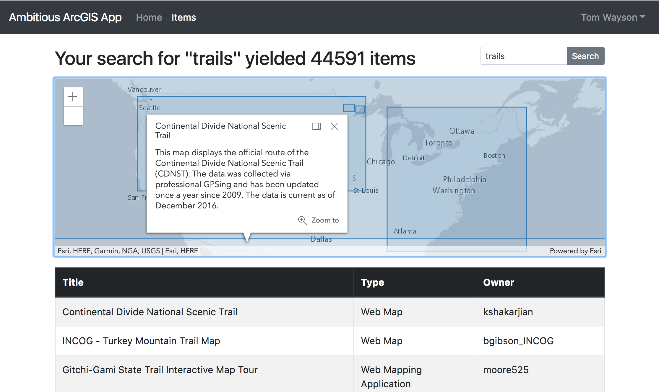 Using Webpack and React with the ArcGIS API for JavaScript